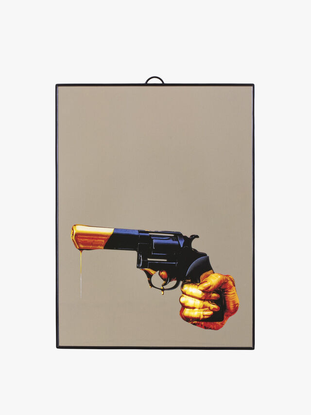 Toilet Paper' Mirror Revolver