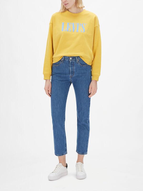 501 Crop Boyfriend Jeans