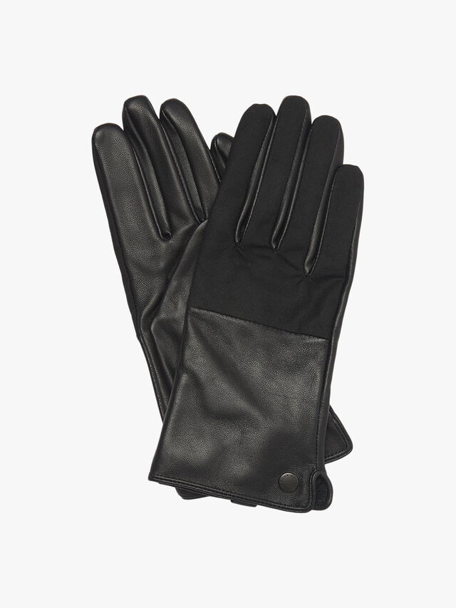 Barbour Cora Wax Leather Gloves