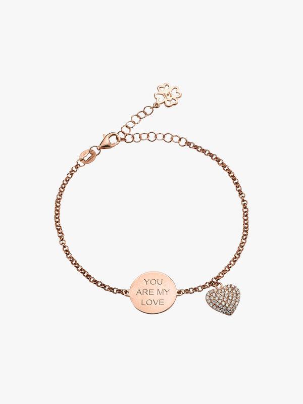 You Are My Love Heart Bracelet