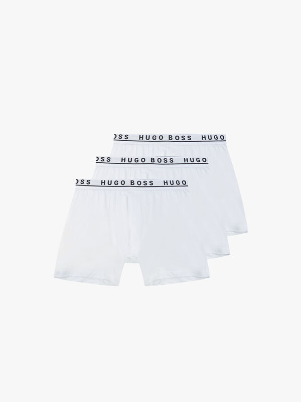 3 Pack Stretch Cotton Boxer Briefs