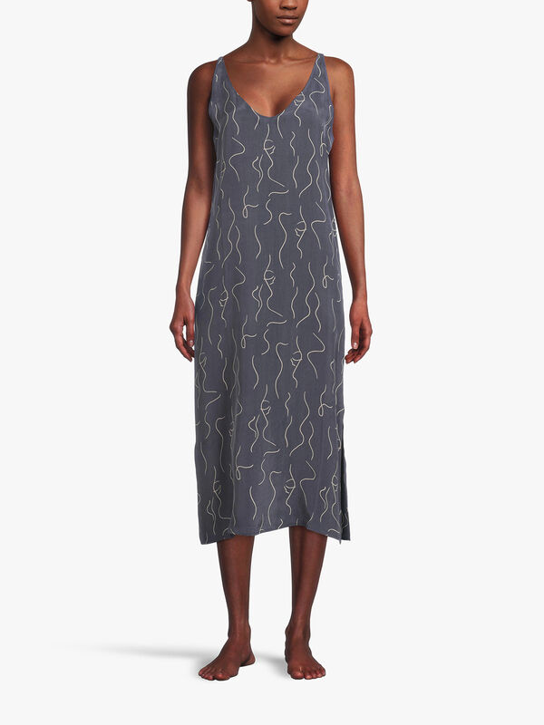 Lille Woven Spagetti Dress