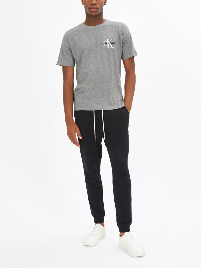 Monogram Embroidered Chest T-Shirt