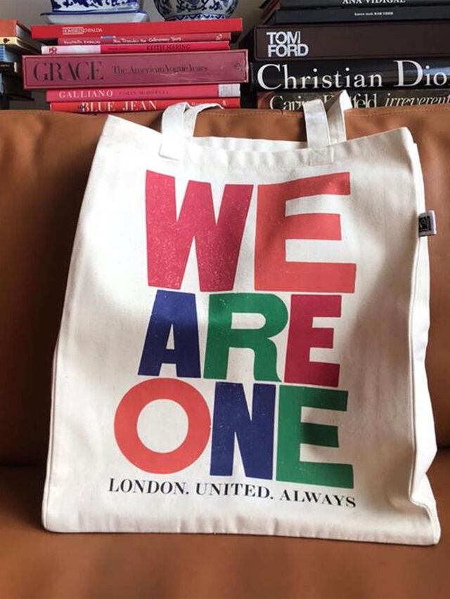 WE ARE ONE LONDON TOTE