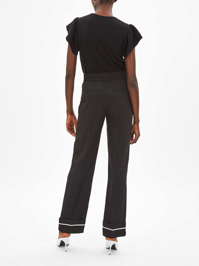 Contrast Piping Trouser
