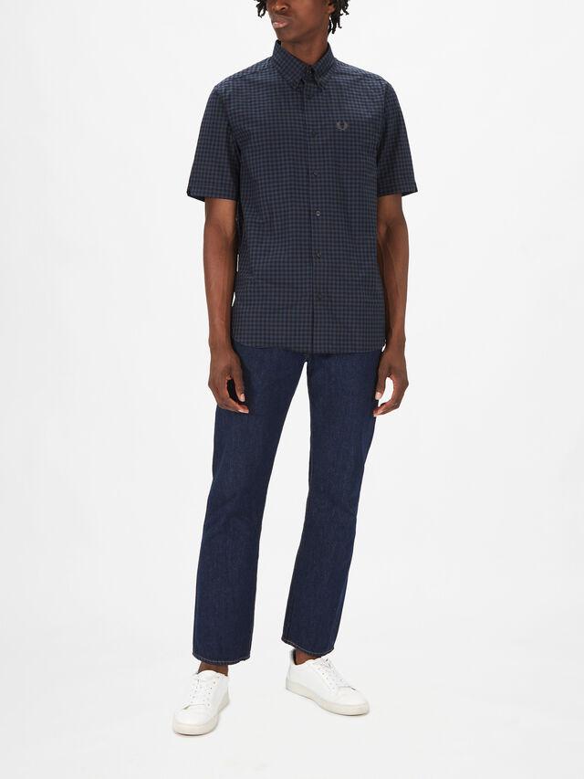 Shortsleeve Gingham Shirt