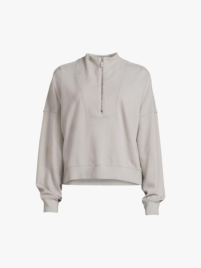 Roxie Half Zip Sweatshirt