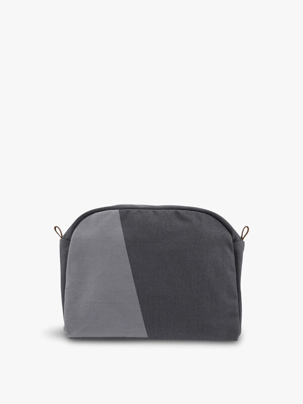 Shades Grey Vanity Bag