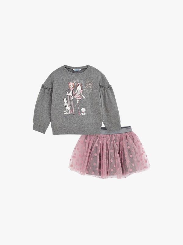 Character Girl Multi Set With Skirt