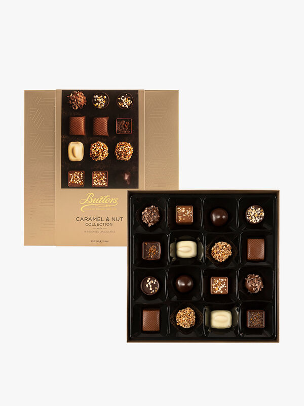 Caramel and Nut Café Collection 240g