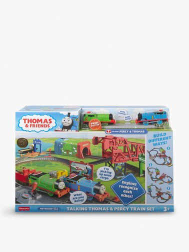 Trackmaster Motorised Talking Engines Day out on Sodor Set