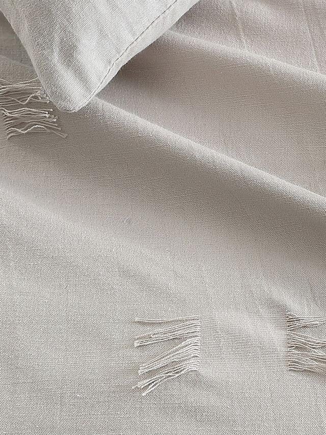 Textured Fringe Duvet Cover