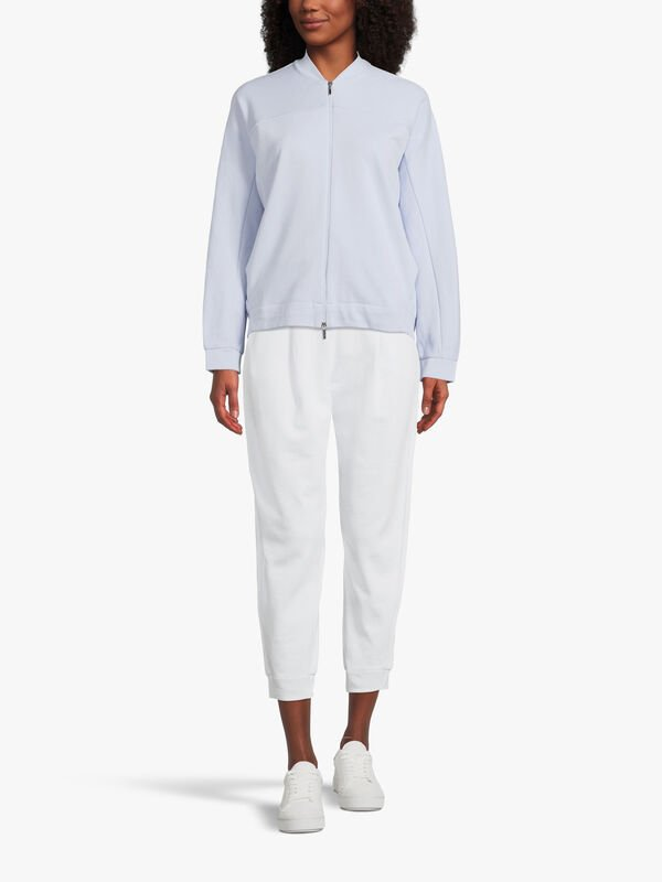 Leisure Bric Pleat Front Jersey Trouser