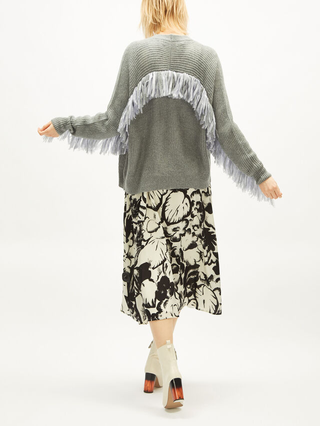 Fringes Cardigan