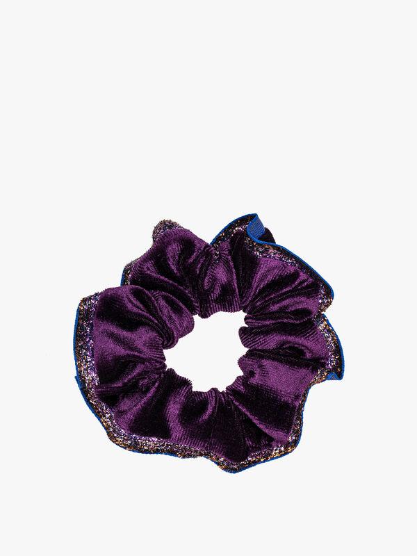 Crystal Velvet Scrunchie