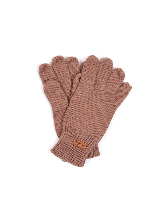 Scarf and Knitted Glove Set