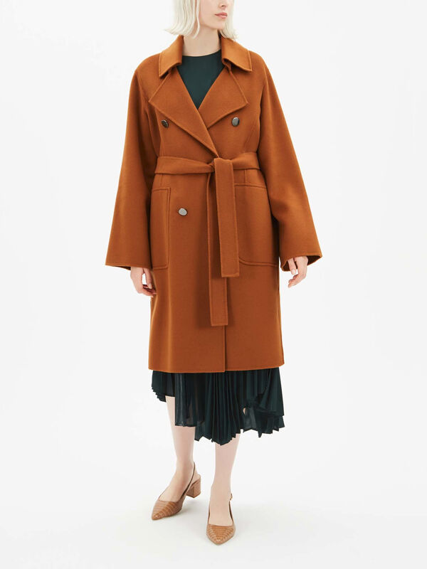 Cartina Belted Coat