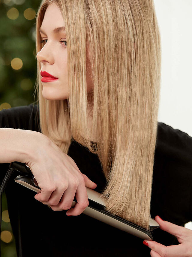 ghd Gold Limited Edition - Hair Straightener in Warm Pewter