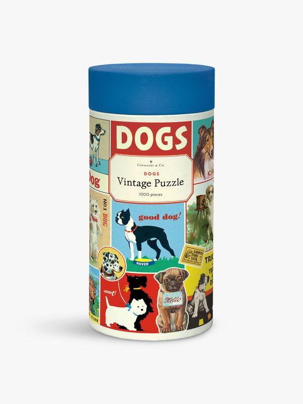 Vintage Puzzles 1000 Piece Dogs