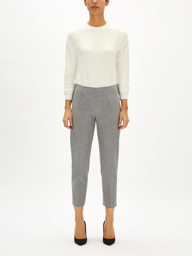Audrey Tropical Wool Trouser