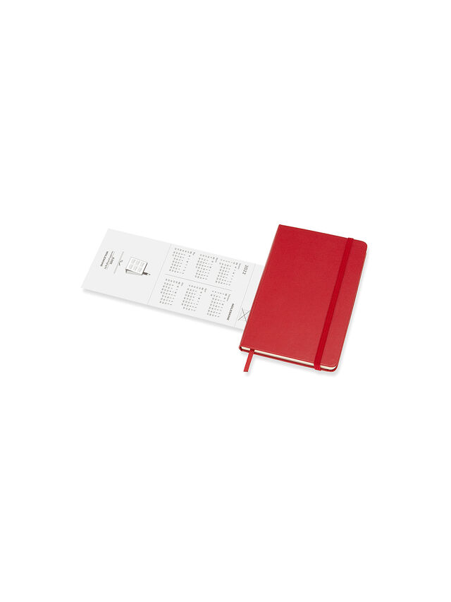 2022 Scarlet Red Large Hard Cover Diary WTV