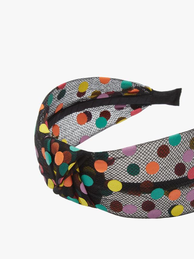 Knotted Mesh Headband