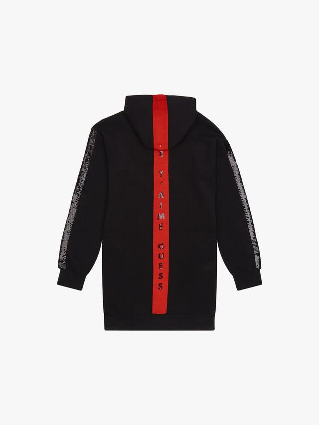 Hooded Long Sleeve Active Top w/Zip