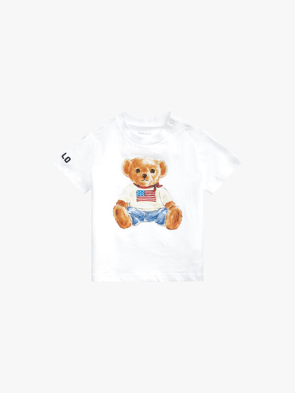 Basic Jersey Bear T-Shirt