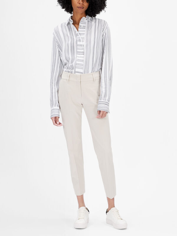 Kim Slim Cropped Trousers