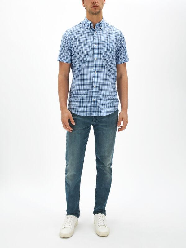 Gingham Broadcloth Shirt