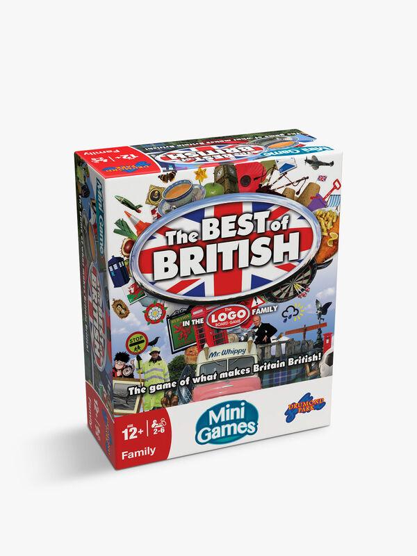 Logo Best Of British Mini Game