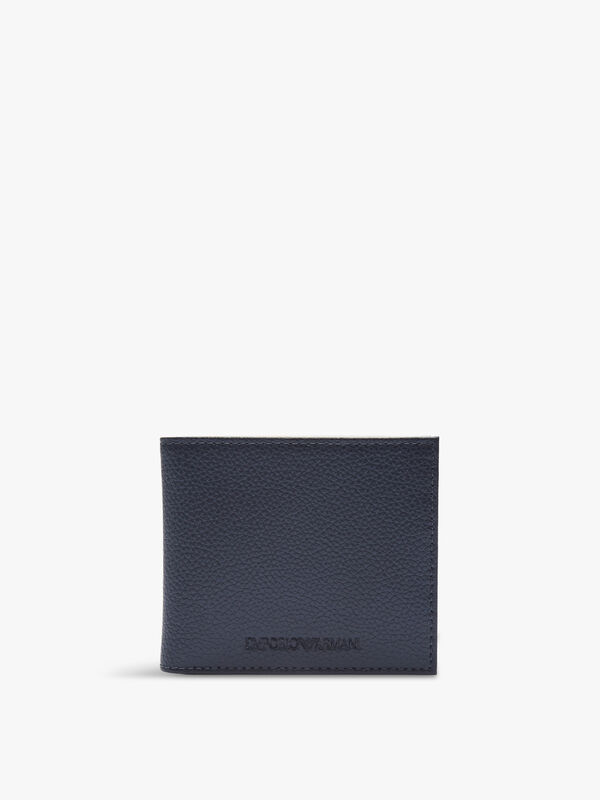 Logo Embossed Billfold Wallet
