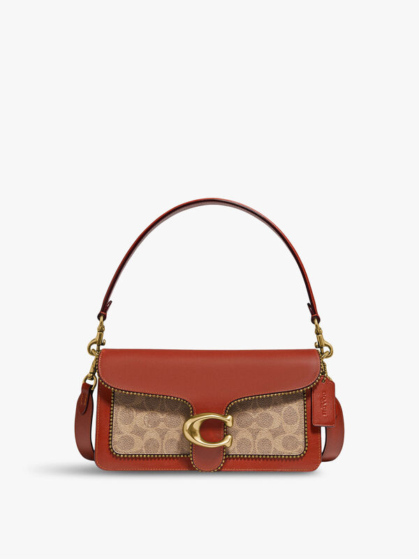 Signature with Beadchain Tabby Shoulder Bag 26