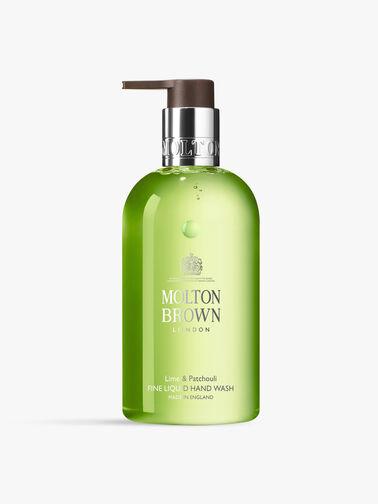 Lime & Patchouli Fine Liquid Hand Wash