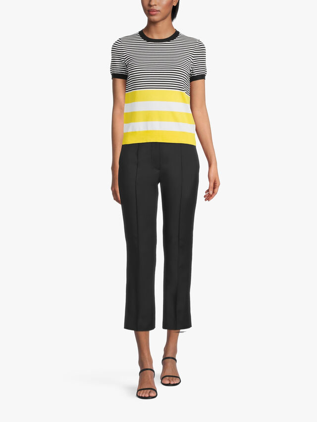 Konsuelo Jersey Sailing Stripe Knitted Sweater
