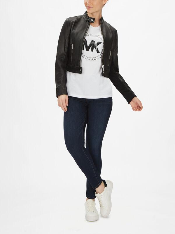 Ponti Combo Leather Jacket
