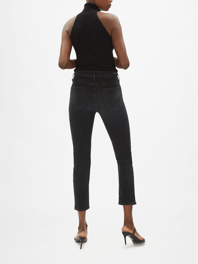 Harlow Ankle High-Rise Slim Jeans