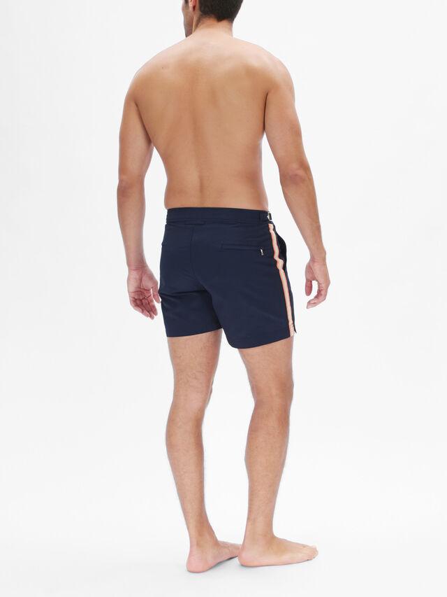 Setter Tape Stripe Swim Short