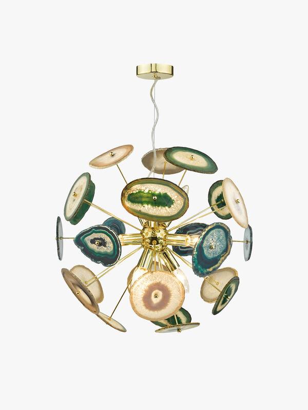 Achates 9 Light Pendant