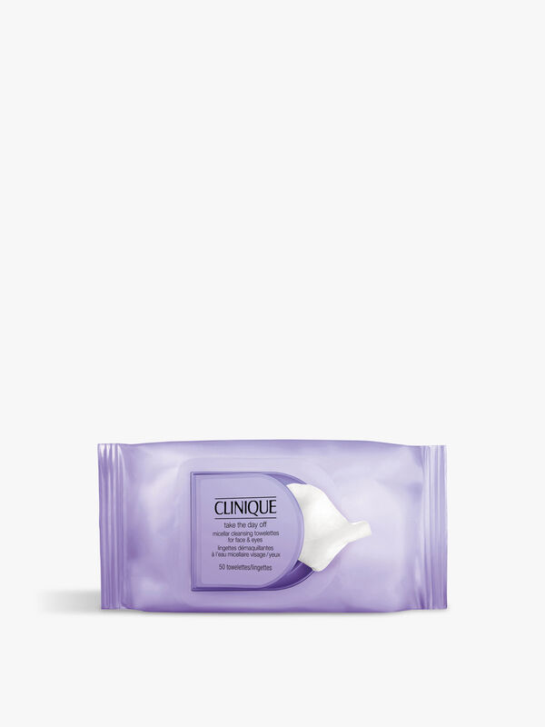 Take The Day Off Micellar Cleansing Wipes For Face & Eyes