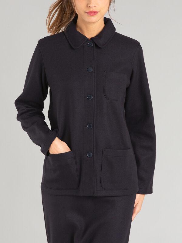 Wool Milano Canton Jacket