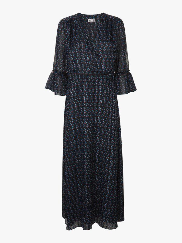 Midi V Neck Dress