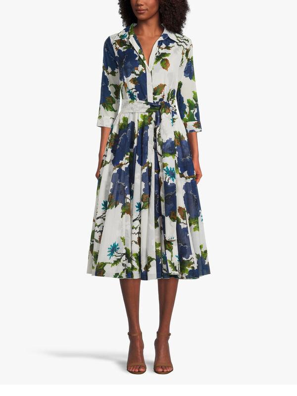 3/4 Sleeve Gypsy Queen Midi Dress