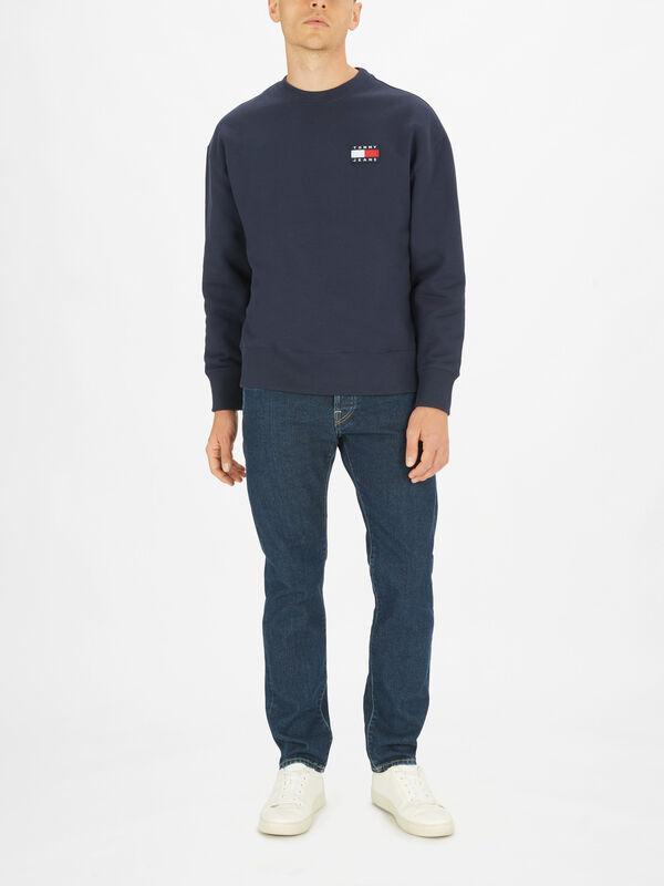 Tommy Badge Crew Sweatshirt