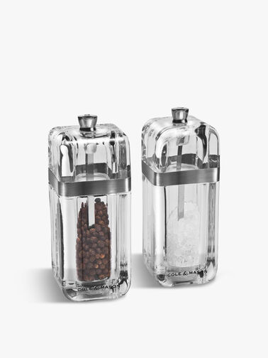 Kempton Salt and Pepper Set with Refills