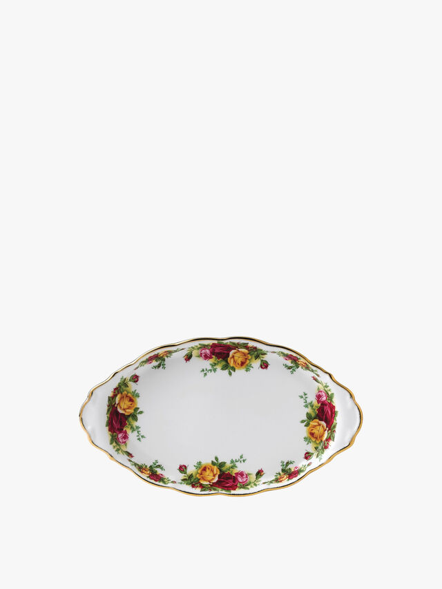 Old Country Roses Sugar Cream Tray 29cm