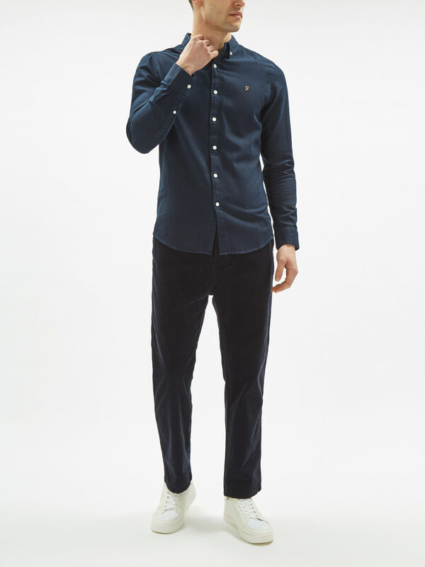 Brewer Slim Indigo Shirt