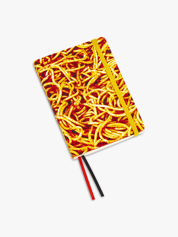 Toiletpaper Regular Notebook Spaghetti