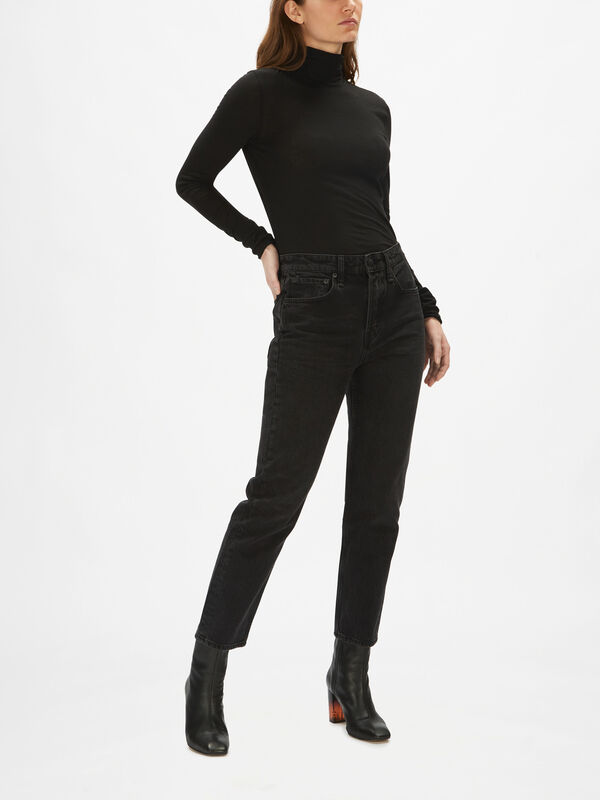 Maya High-Rise Ankle Slim
