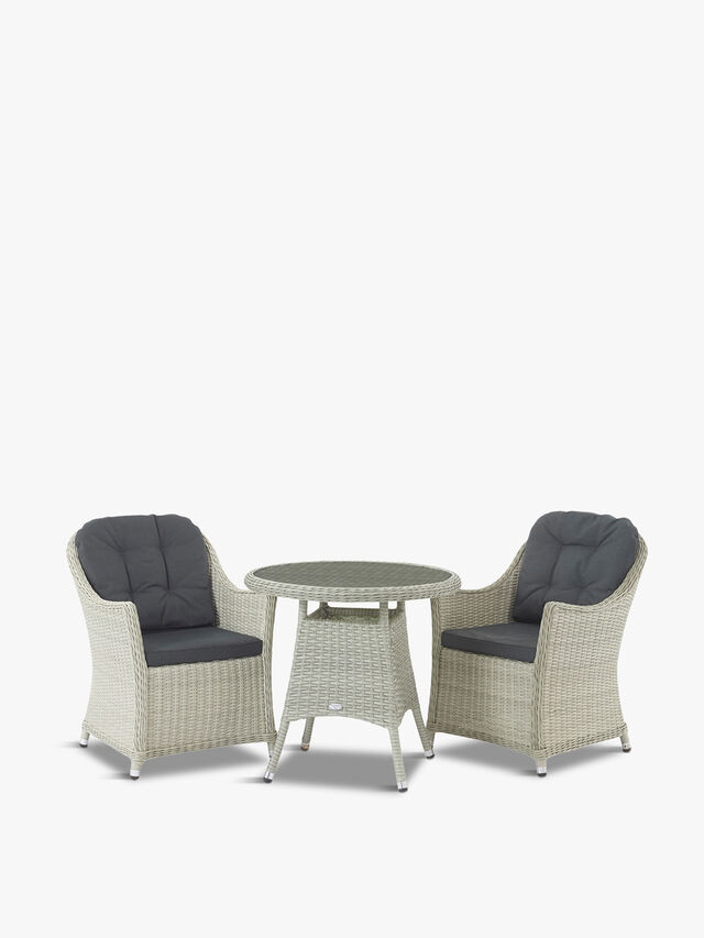 Monterey Bistro Table with Armchairs